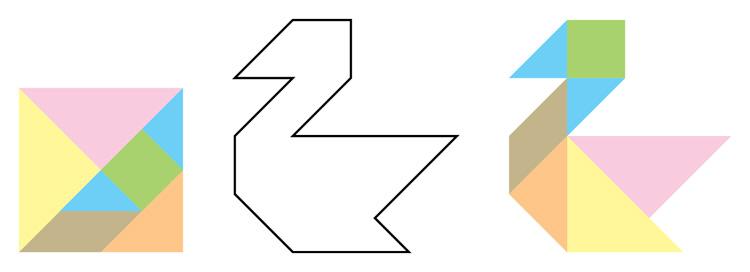 七巧板拼图k