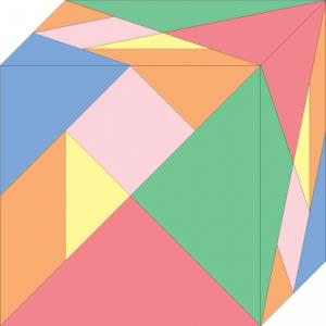 第二种七巧立方