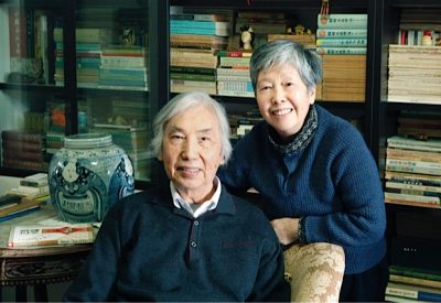 Fu Qifeng with her husband Xu Zhuang, 2011