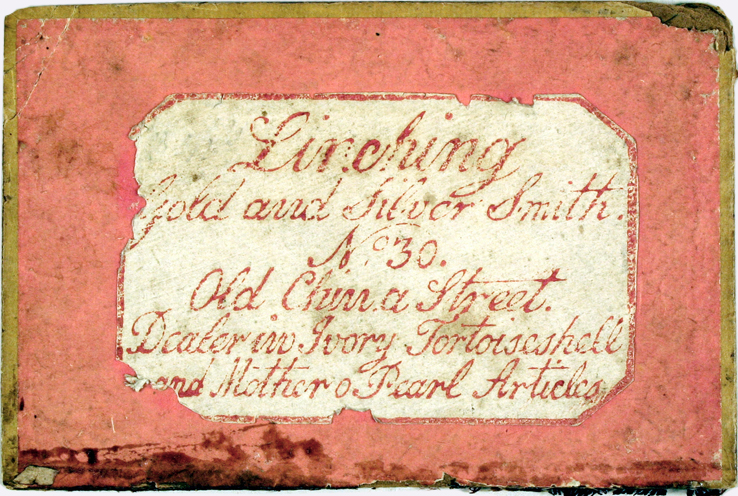 ivory puzzles shop label, Canton