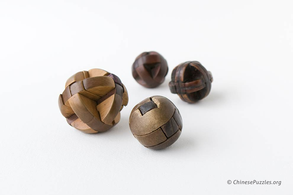 interlocking puzzle balls