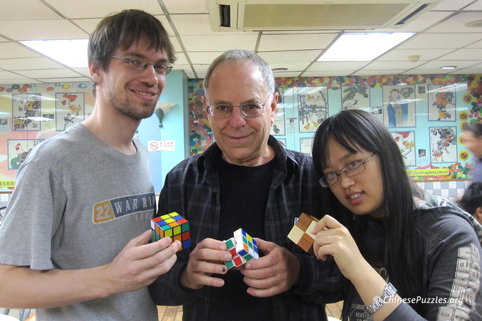 Rubiks Cubers at Beijing Celebration of Mind