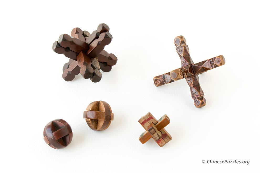 interlocking burr puzzles