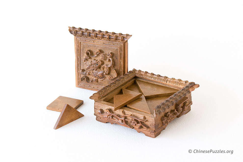 sandalwood tangram set