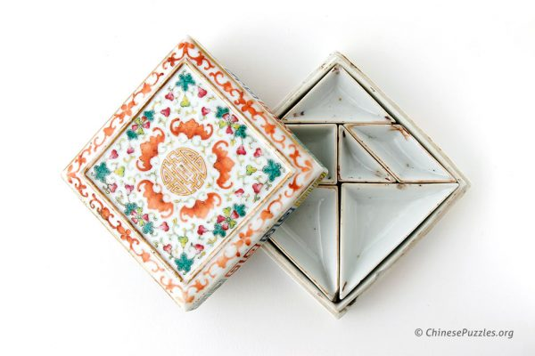 tangram paint dish set